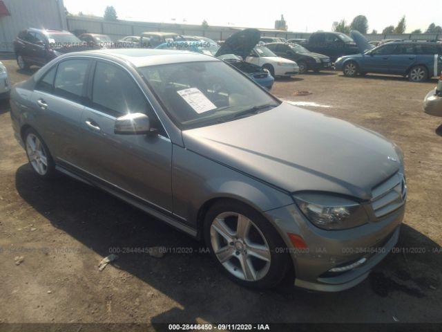 2011 Mercedes-benz C class 3.0. Lot 111028446450 Vin WDDGF8BB3BR135259
