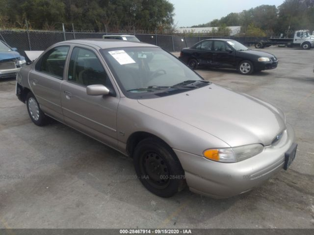 salvage car ford contour 1996 gold for sale in kansas city ks online auction 1falp65l7tk147400 ridesafely
