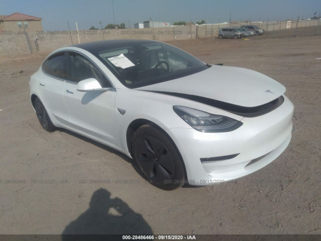Salvage, Wrecked Vehicles Auctions Online   2020 TESLA ...