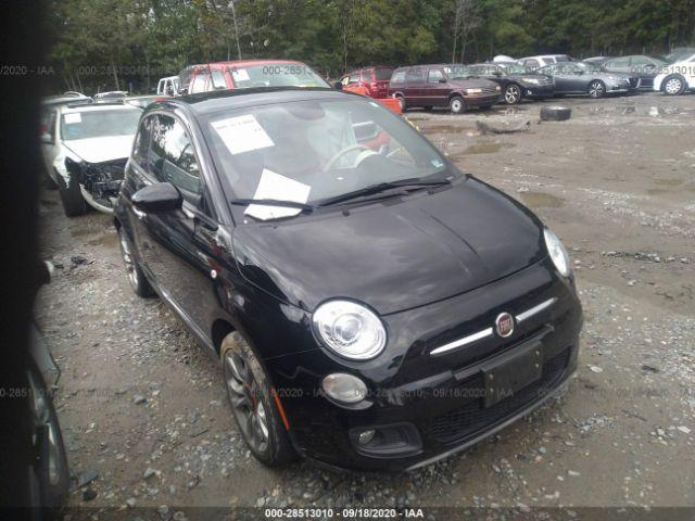 2015 Fiat 500 1.4. Lot 111028513010 Vin 3C3CFFBR1FT613576