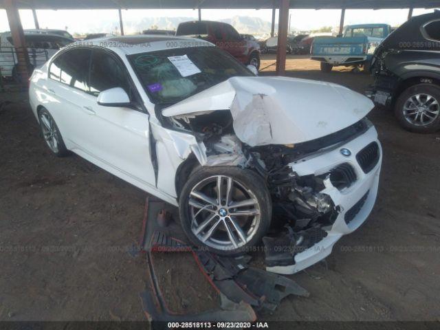 2015 BMW 3 series 2.0. Lot 111028518113 Vin WBA3C1C57FP854109