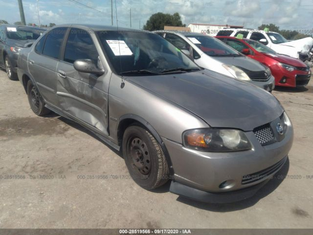 salvage car nissan sentra 2006 silver for sale in palmetto fl online auction 3n1cb51d66l544183 ridesafely