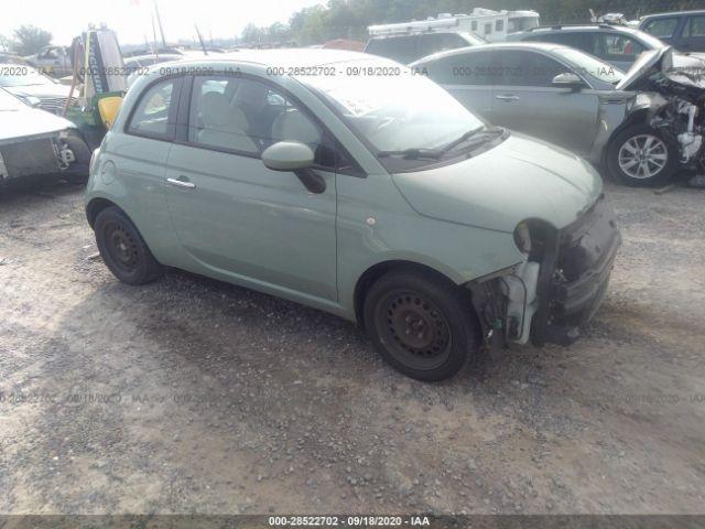 2014 Fiat 500 1.4. Lot 111028522702 Vin 3C3CFFAR4ET232370