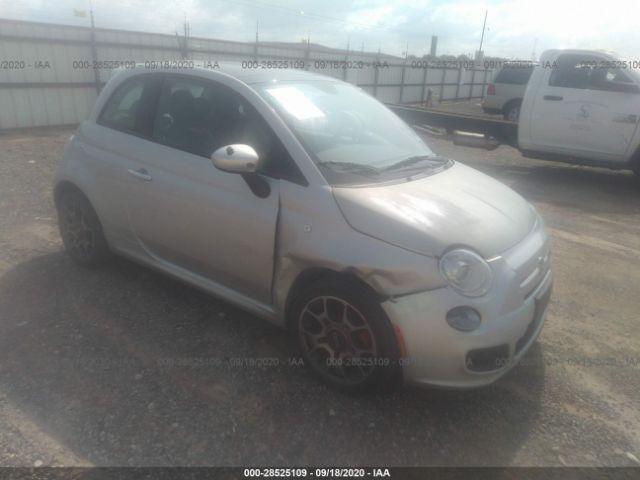 2013 Fiat 500 1.4. Lot 111028525109 Vin 3C3CFFBR1DT615499