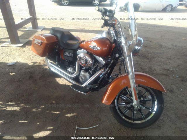 2014 Harley-davidson Fld . Lot 111028544548 Vin 1HD1GZM1XEC306974