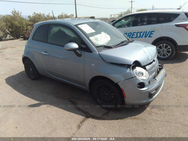 2014 Fiat 500 1.4. Lot 111028528629 Vin 3C3CFFAR9ET167192