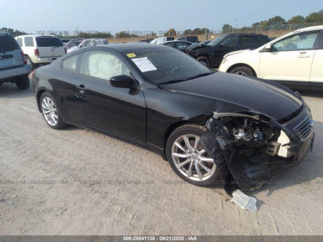2010 Infiniti G37 coupe 3.7. Lot 111028541138 Vin JN1CV6EL0AM151373
