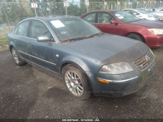 used car volkswagen passat 2003 gray for sale in puyallup wa online auction wvwuk63b03p439027 ridesafely