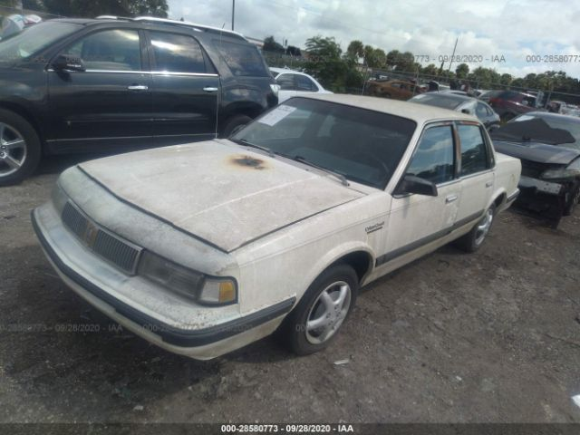 used car oldsmobile cutlass ciera 1992 white for sale in hudson fl online auction 1g3al54n3n6420967 ridesafely