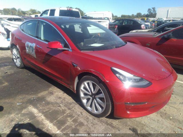 2018 Tesla Model 3 . Lot 111028588842 Vin 5YJ3E1EA4JF102913