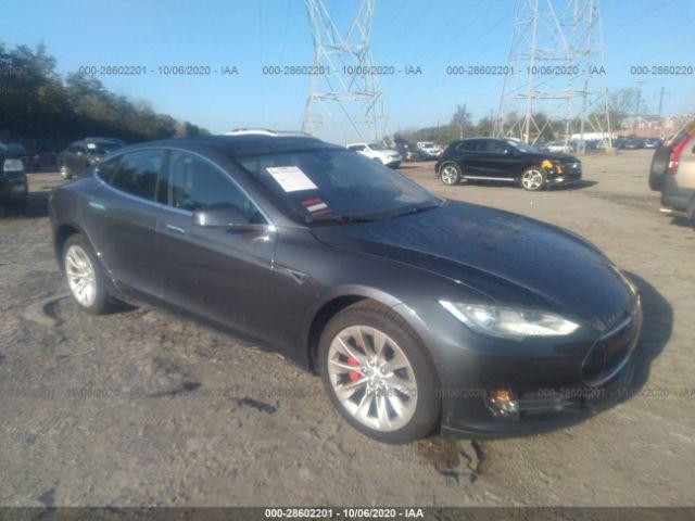 2014 Tesla Model s . Lot 111028602201 Vin 5YJSA1H14EFP54939
