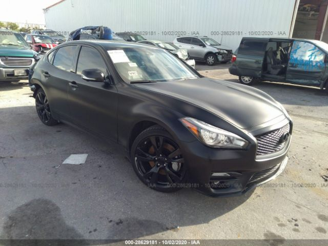 2015 Infiniti Q70 3.7. Lot 111028629181 Vin JN1BY1AR3FM561415