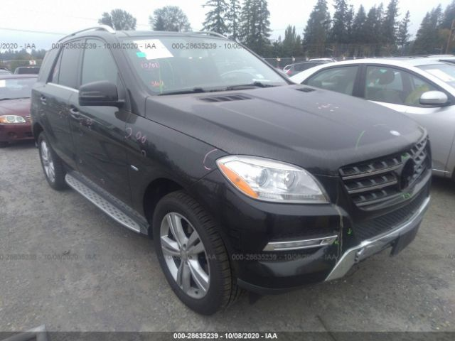 2012 Mercedes-benz M-class 3.5. Lot 111028635239 Vin 4JGDA5HB5CA057564