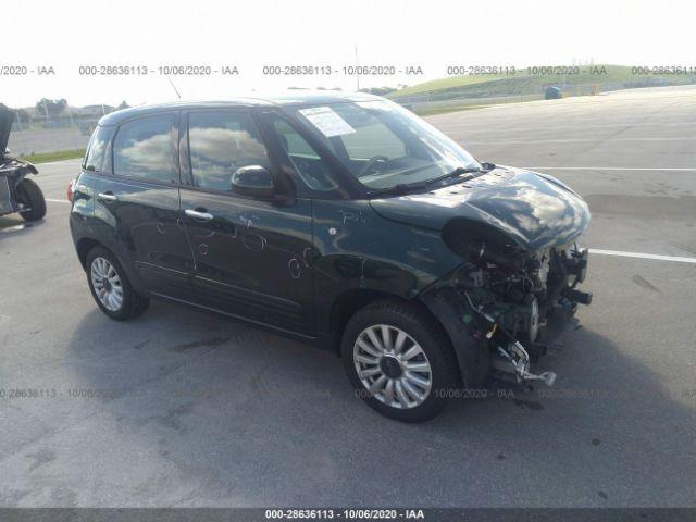 2014 Fiat 500l 1.4. Lot 111028636113 Vin ZFBCFABH8EZ027893