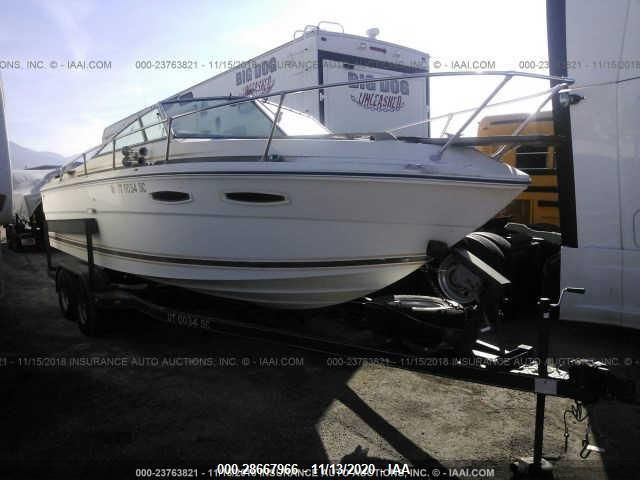 Global Auto Auctions: 1983 SEA RAY 23FT CUDDY CAB