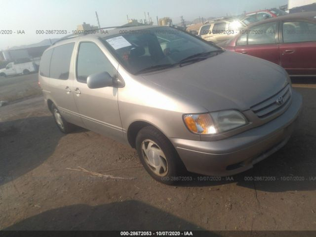used car toyota sienna 2003 gold for sale in bay point ca online auction 4t3zf13c13u531144 ridesafely