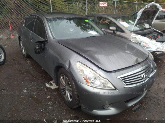 2012 Infiniti G25 sedan 2.5. Lot 111028692968 Vin JN1DV6AP6CM810329