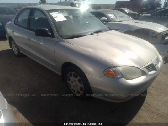 used car hyundai elantra 1999 silver for sale in north hollywood ca online auction kmhjf25f5xu807804 ridesafely