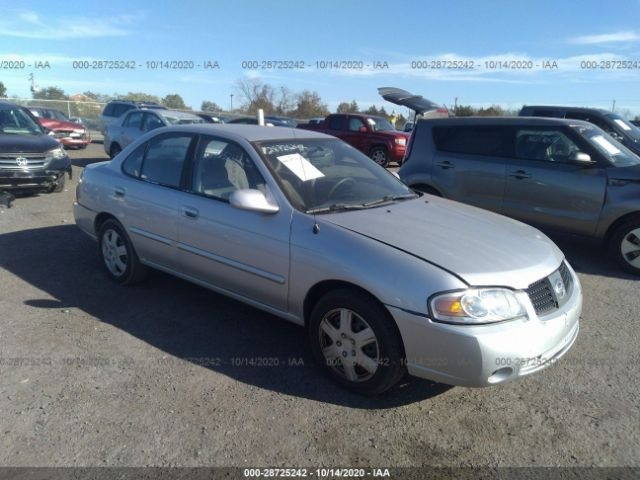 used car nissan sentra 2005 silver for sale in culpeper va online auction 3n1cb51d45l578461 ridesafely