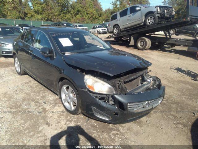 2013 Volvo S60 2.5. Lot 111028728621 Vin YV1612FSXD2177154
