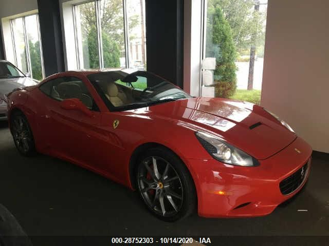 Global Auto Auctions: 2012 FERRARI CALIFORNIA