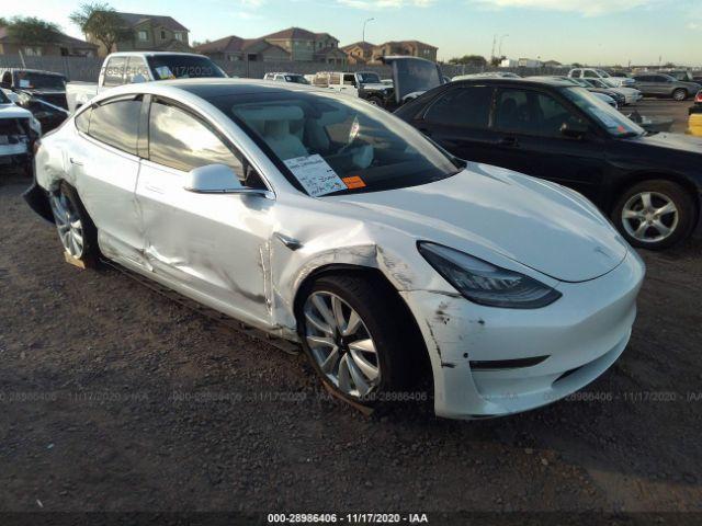Global Auto Auctions: 2019 TESLA MODEL 3