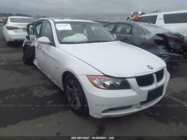Salvage 2008 BMW 3 SERIES - Small image. Stock# 29318427