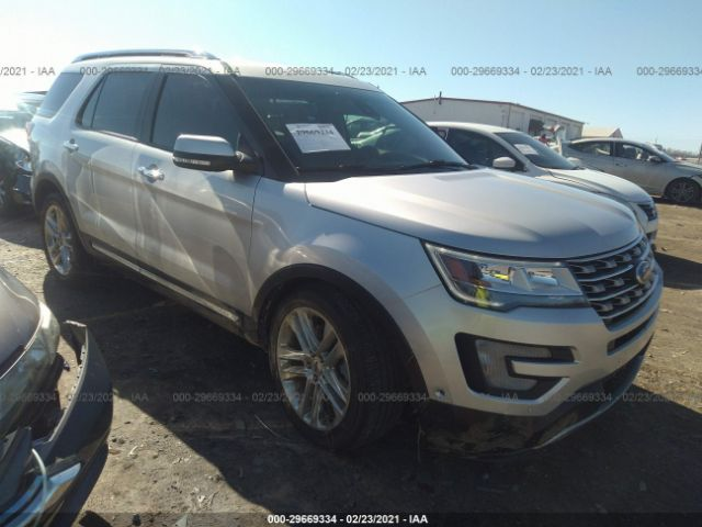 Salvage 2016 FORD EXPLORER - Small image. Stock# 29669334
