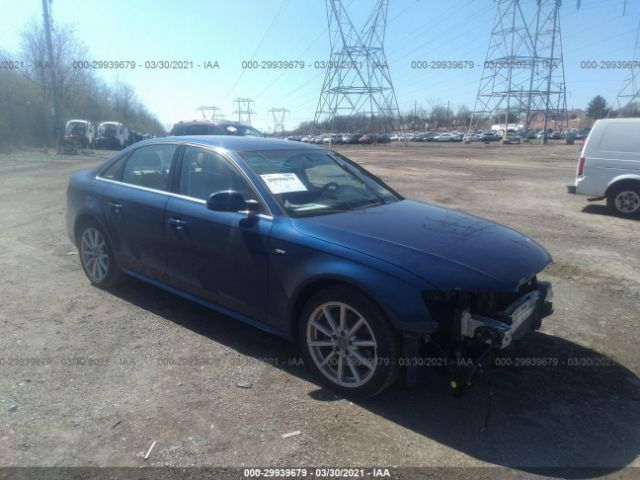 Salvage 2015 AUDI A4 - Small image. Stock# 29939679
