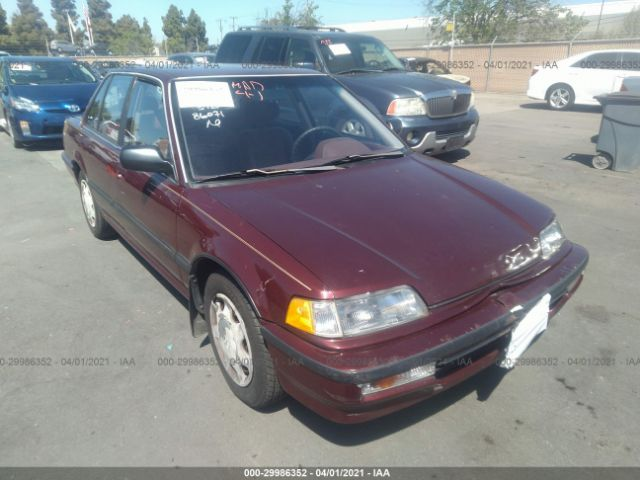 Elite Auto Auctions: 1991 Honda EX