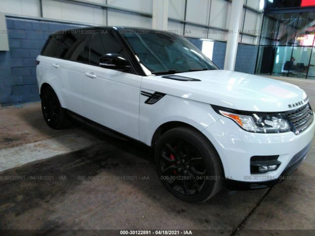Salvage 2015 LAND ROVER RANGE ROVER SPORT - Small image. Stock# 30122891