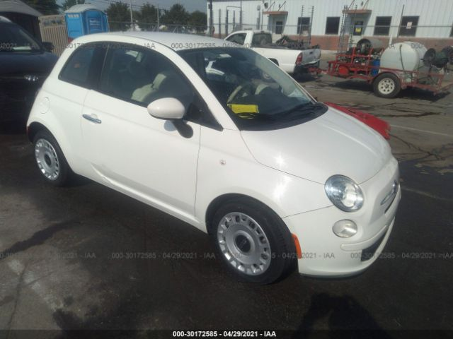 Salvage 2014 FIAT 500 - Small image. Stock# 30172585