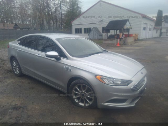 Salvage 2017 FORD FUSION - Small image. Stock# 30200565