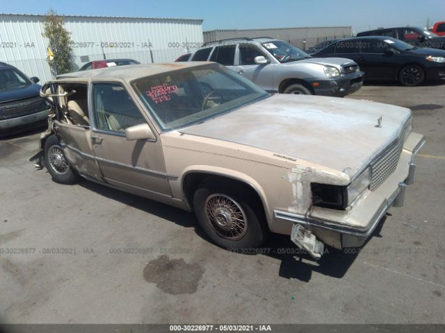 Global Auto Auctions: 1987 CADILLAC DELEGANCE