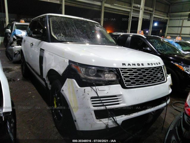 Salvage 2015 LAND ROVER RANGE ROVER - Small image. Stock# 30348516