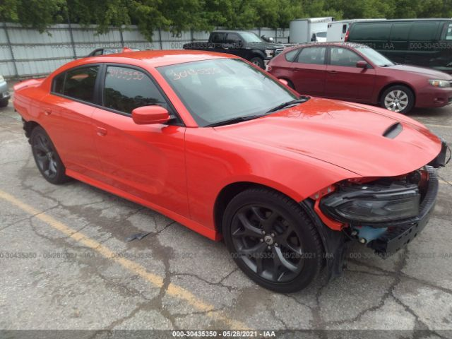 Salvage 2019 DODGE CHARGER - Small image. Stock# 30435350