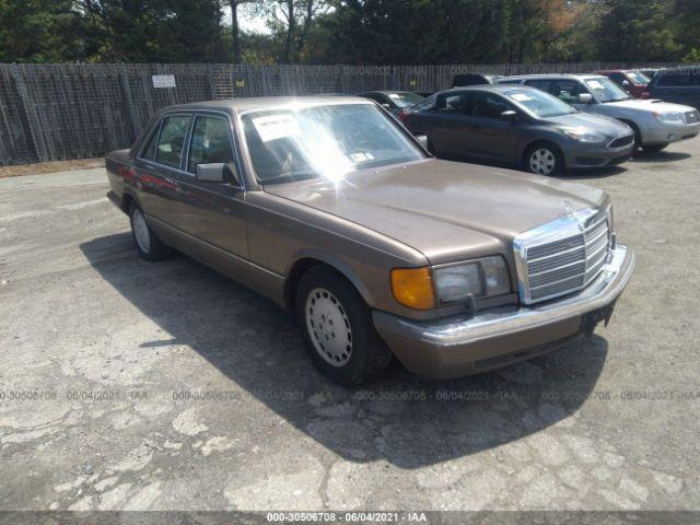 Global Auto Auctions: 1989 MERCEDES-BENZ SE