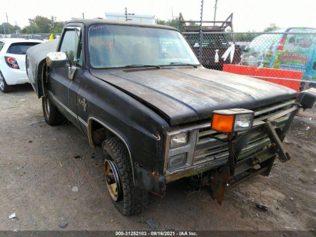 Global Auto Auctions: 1985 Chevrolet K10