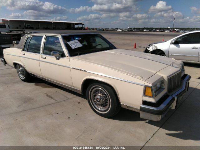 Global Auto Auctions: 1984 Buick PARK AVENUE
