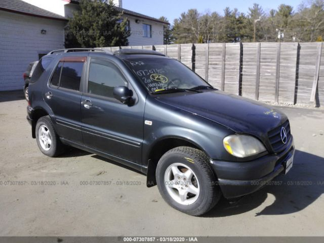 2001 MERCEDES-BENZ ML320 - Small image. Stock# 7307857